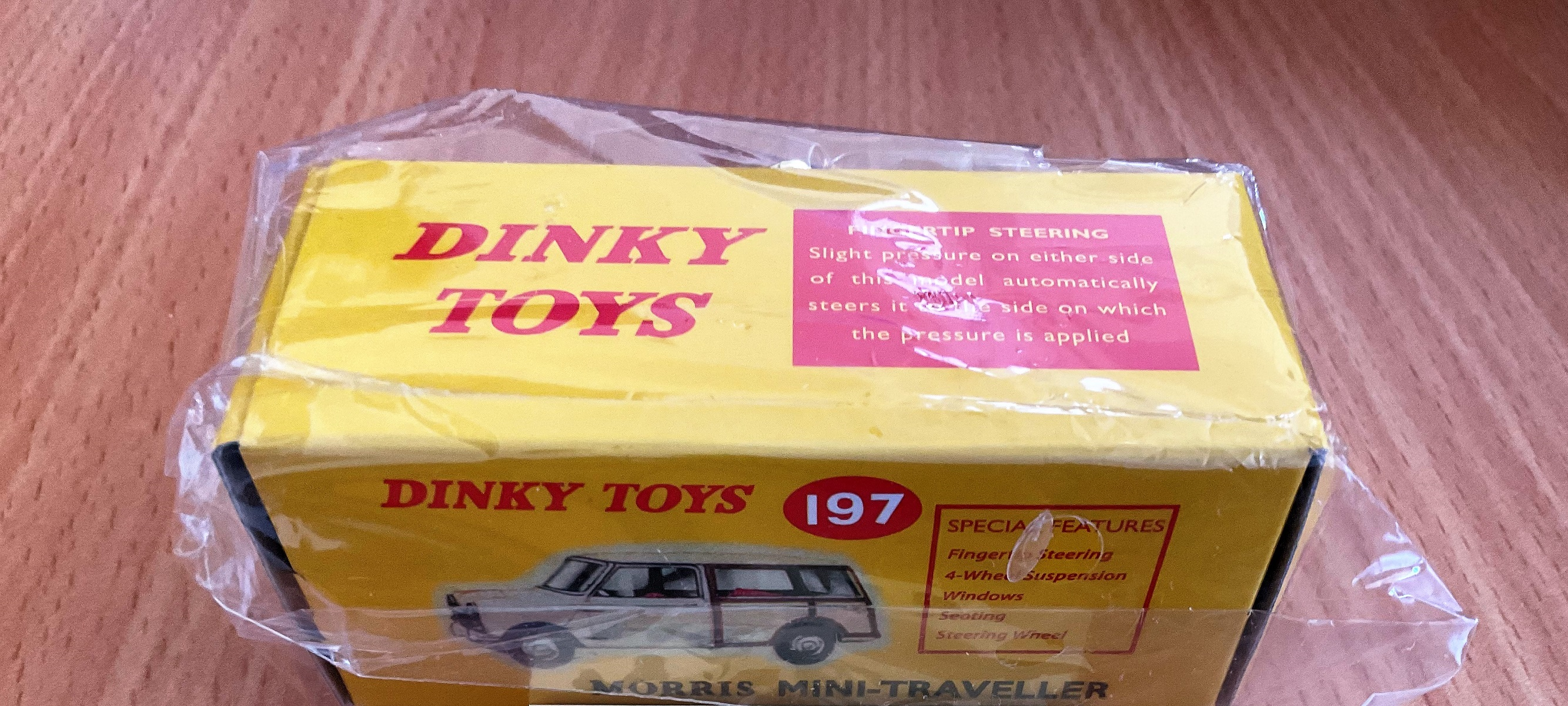Vintage Toys. Dinky Toys collections. A Morris Mini-Traveller, in the original box, unopened, in - Image 2 of 2