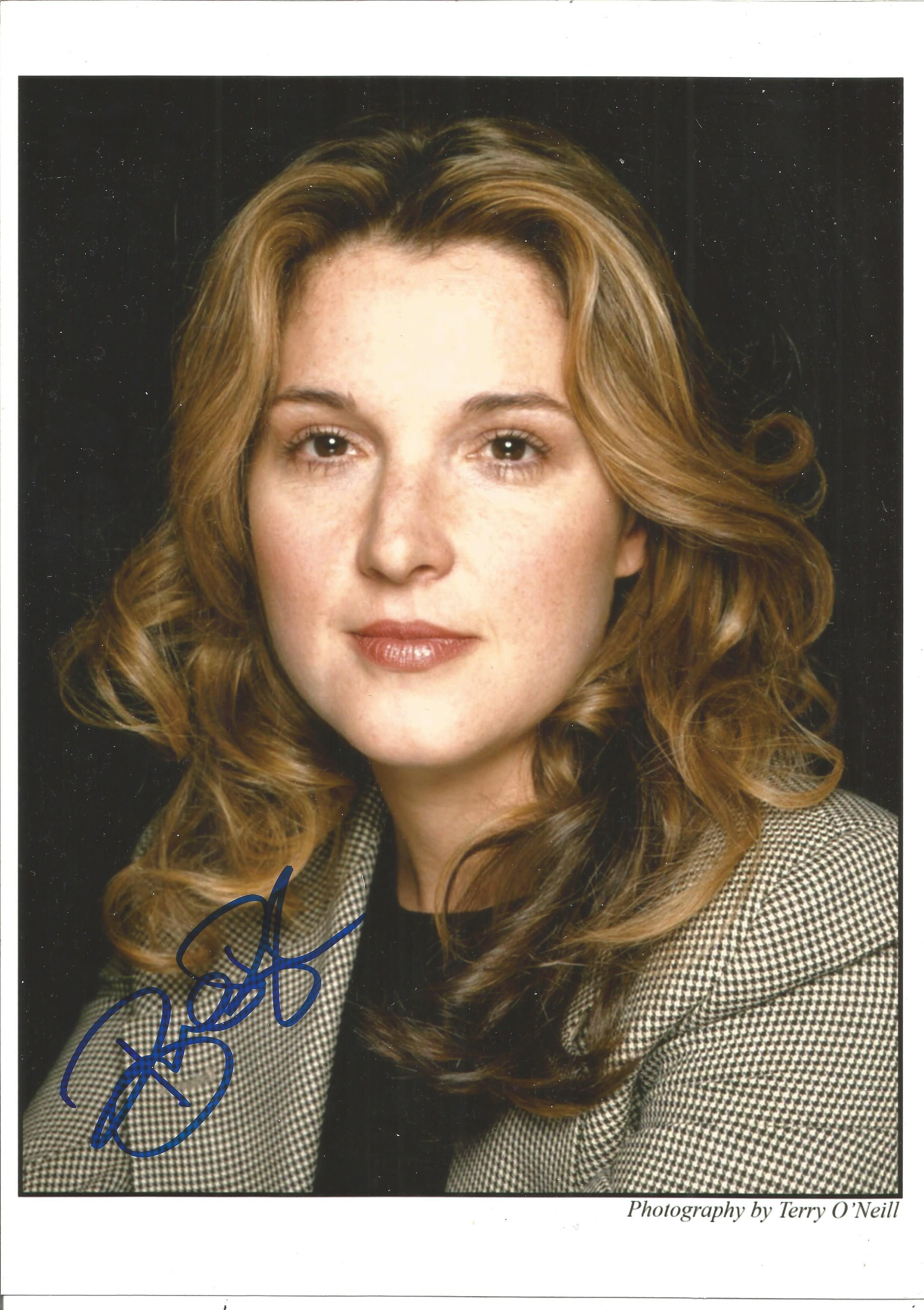 Barbara Broccoli signed 12x8 colour photo. Good Condition. All autographs are genuine hand signed