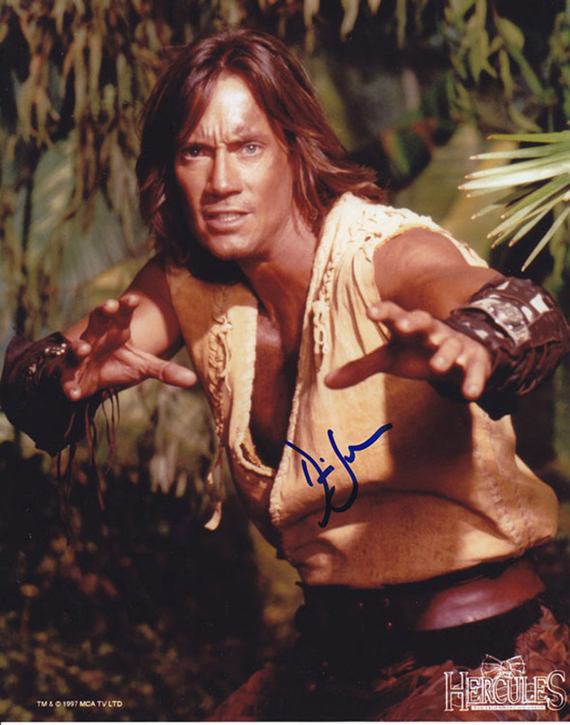Blowout Sale! Hercules Kevin Sorbo hand signed 10x8 photo. This beautiful 10x8 hand signed photo