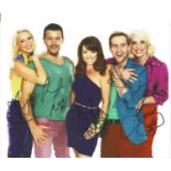 Steps signed 10x8 colour photo signed by all five band members. Steps are a British dance-pop