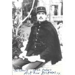 Arthur Bostrom signed and dedicated 6x4 black and white photograph pictured during his role as