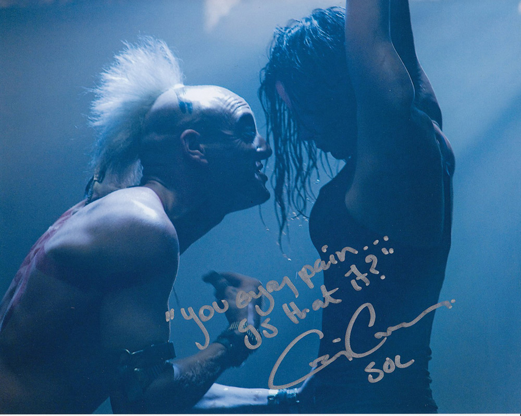 Blowout Sale! Doomsday Craig Conway hand signed 10x8 photo. This beautiful 10x8 hand signed photo