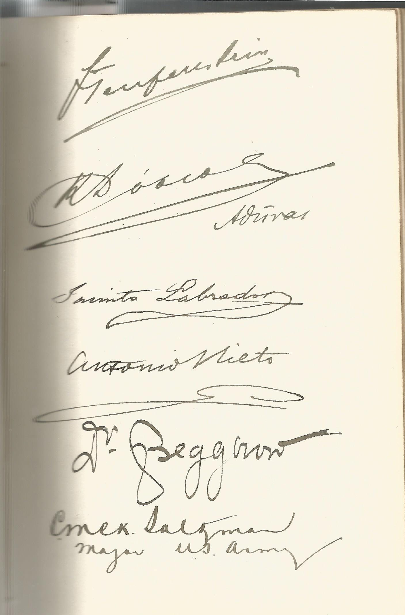 Guglielmo Marconi multiple signed International Radio Telegraph Conference London 1912 vintage - Image 2 of 5
