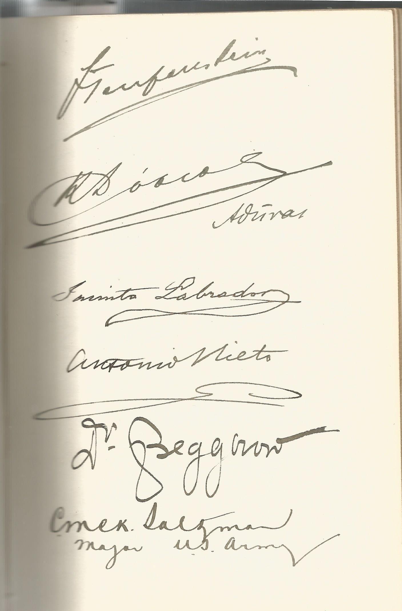Guglielmo Marconi multiple signed International Radio Telegraph Conference London 1912 vintage - Image 4 of 5
