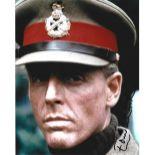 Edward Fox signed 10x8 colour photo. Edward Charles Morice Fox, OBE (born 13 April 1937) is an