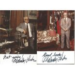 Malcolm Forbes 6x4 colour photo. Signed with best wishes and a Malcom Forbes signature. Malcolm