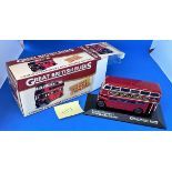 Vintage Toys. A London Transport RTW double decker bus, Die-Cast. 1:76 scale replica. In original