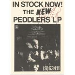 The Peddlers Jazz/Soul Trio Vintage 1968 Lp Promo Photo Signed By Roy Phillips, Tab Martin and