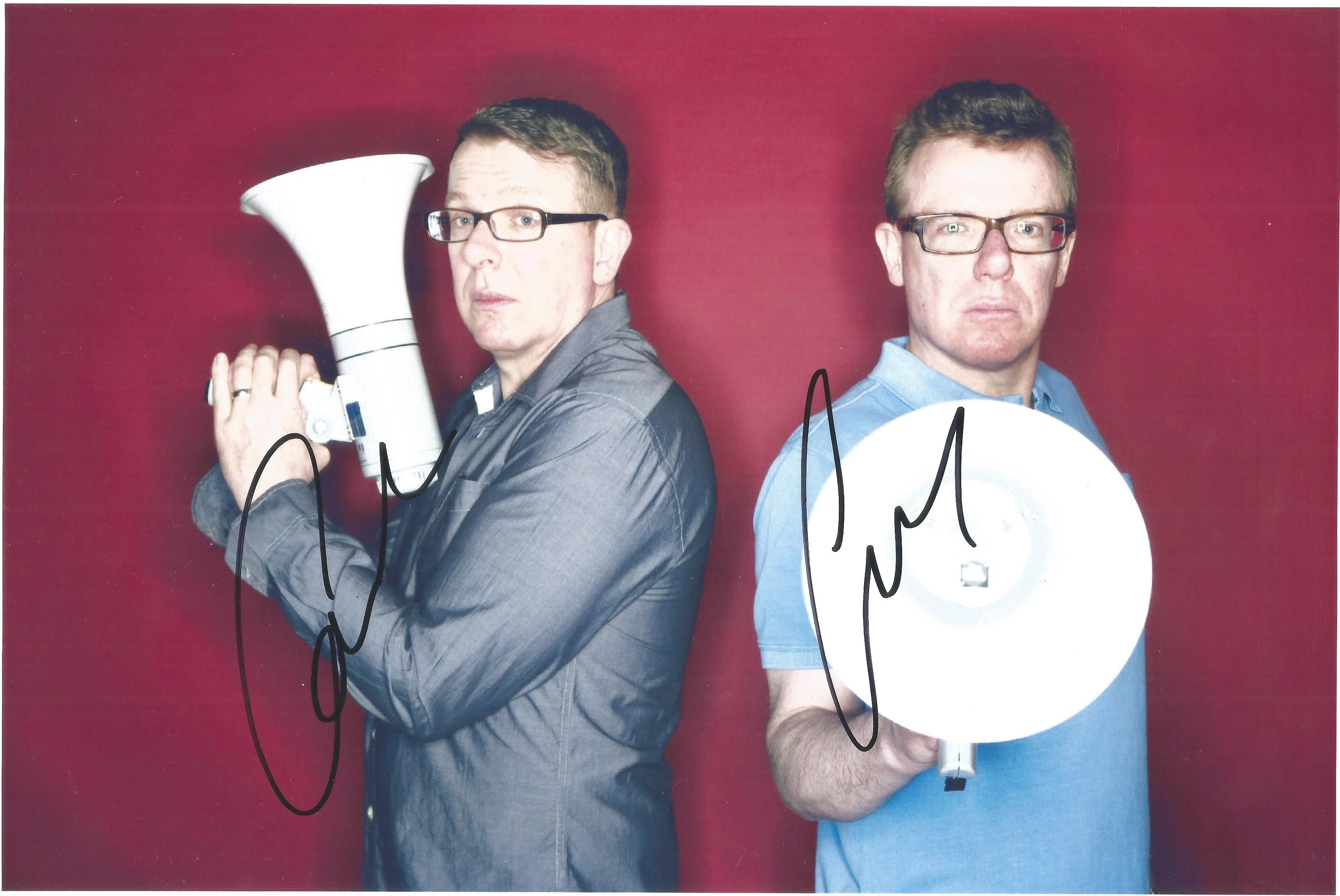 The Proclaimers signed 12x8 colour photo. The Proclaimers are a Scottish rock duo formed in 1983