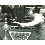 Snooker Dennis Taylor signed 10x8 black and white photo. Good Condition. All autographs are