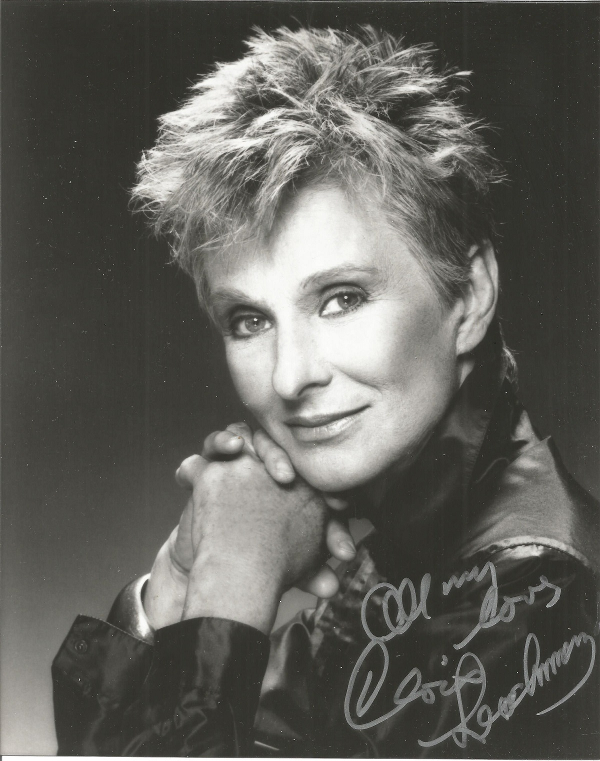 Cloris Leachman signed 10x8 black and white photo. Good Condition. All autographs are genuine hand