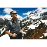 Ranulph Fiennes signed 12x8 colour photo. Good Condition. All autographs are genuine hand signed and