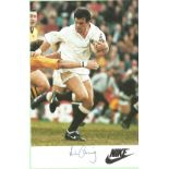 Will Carling signed 6x4 Nike colour promo photo. William David Charles Carling, OBE (born 12