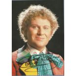 Colin Baker signed 6x4 Dr Who colour photo. Colin Baker (born 8 June 1943) is an English actor who