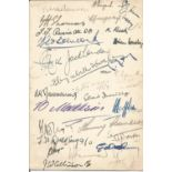 WW2 Multiple signed No. 5 (Pilot) Advanced Flying Unit. [RAF Ternhill] 1942 Xmas Day Menu. 27