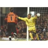 Rod Wallace Signed 8x12 Leeds United Photo. Good Condition. All autographs are genuine hand signed