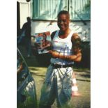 Cuba Gooding Jnr signed 12x8 colour photo. Good Condition. All autographs are genuine hand signed