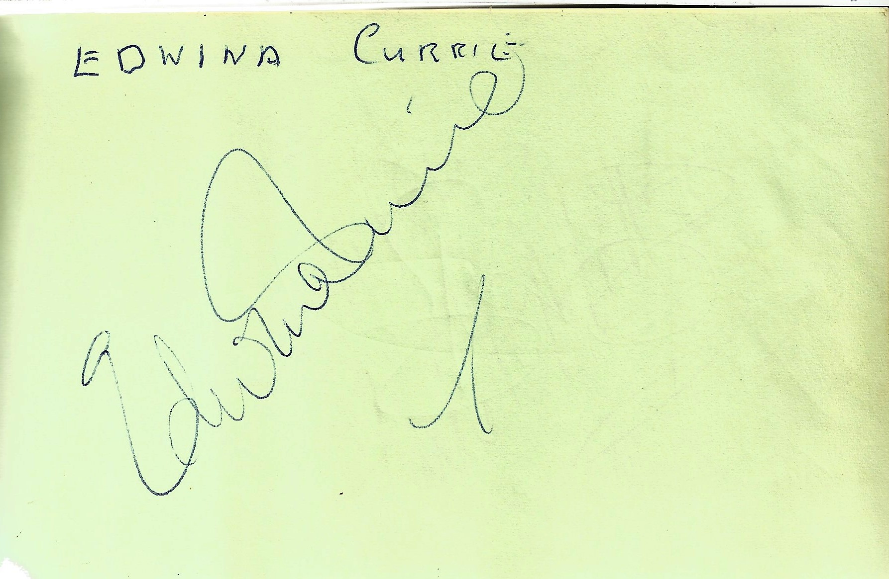 Red 6.5x4.5 Autograph book with 90 signatures including Tony Anholt, Peter Davison, Colin Baker, - Image 5 of 6