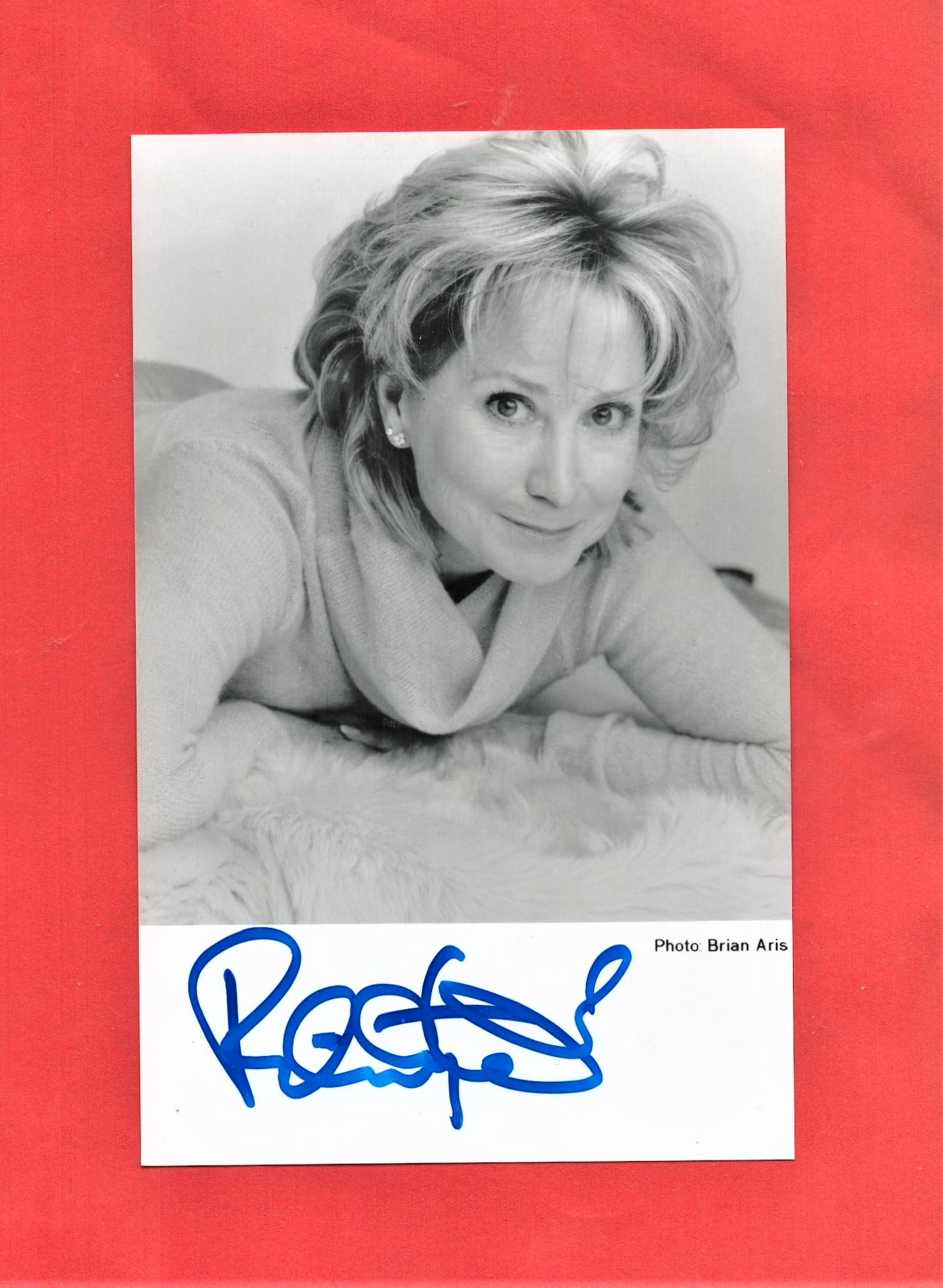 Felicity Ann Kendal signed 6x4 black and white photograph. Kendal is an English actress, working