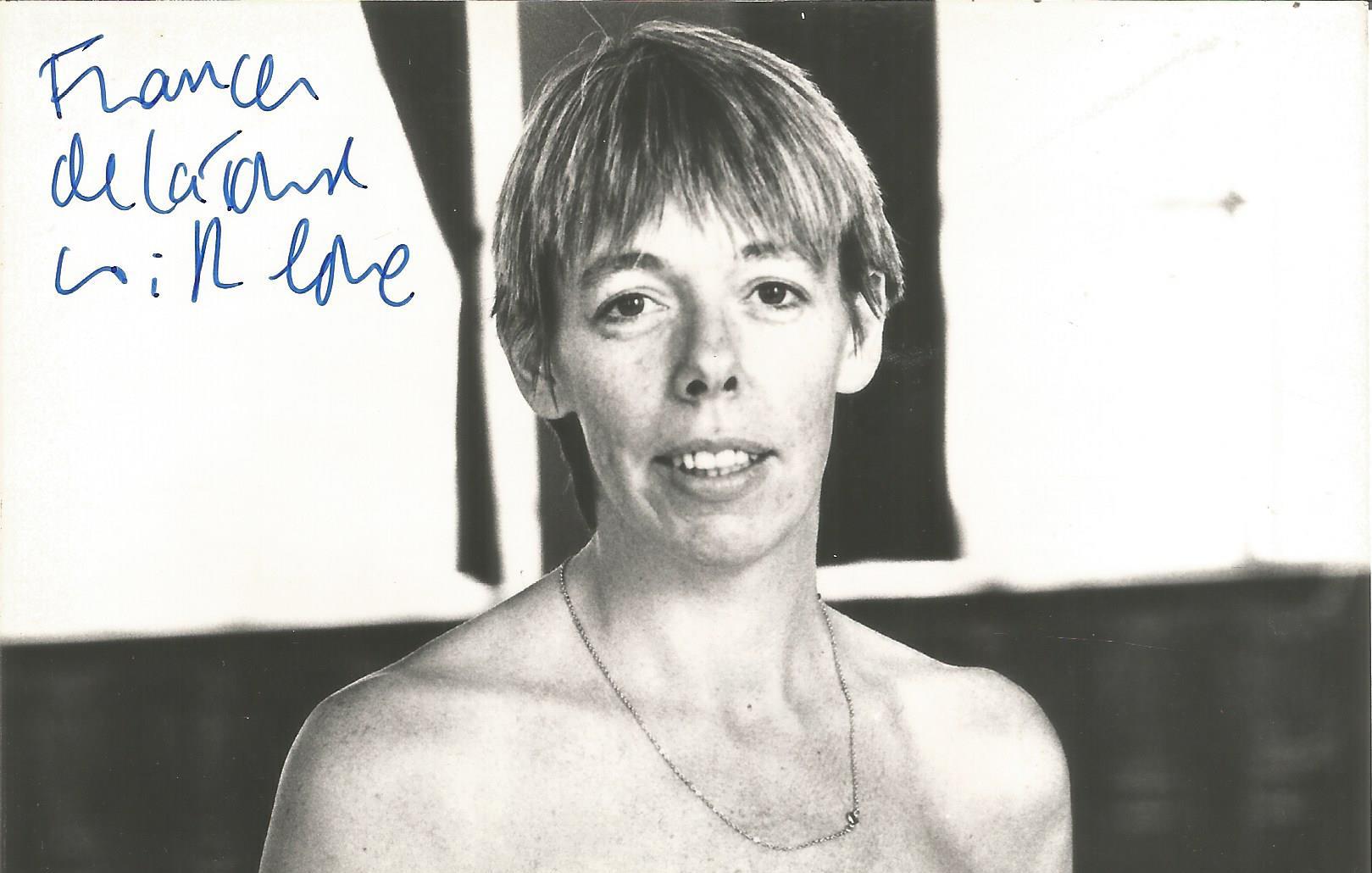 Frances de la Tour signed 6x4 black and white photograph. Frances is an English actress, known for