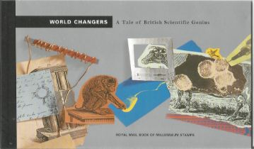 GB mint stamps Prestige Pack World changers A tale of British scientific genius, complete. Good
