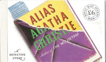 GB mint stamps Prestige Pack Alias Agatha Christie, complete. Good condition. We combine postage