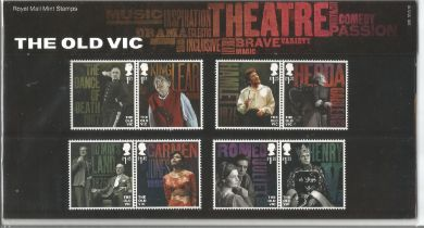 GB mint stamps Presentation Pack no 560 The Old Vic 2018. Good condition. We combine postage on