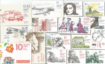 GB mint stamp Booklets approx. £19+ face value. Stamps from 2p to 25p. All ready to use. Good