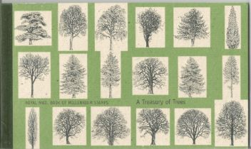 GB mint stamps Prestige Pack A treasury of Trees 2000, complete. Good condition. We combine