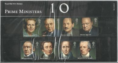 GB mint stamps Presentation Pack no 503 Prime Ministers 2014. Good condition. We combine postage