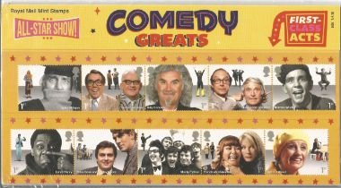 GB mint stamps Presentation Pack no 509 Comedy Greats 2015. Good condition. We combine postage on
