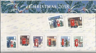 GB mint stamps Presentation Pack no 563 Christmas 2018. Good condition. We combine postage on