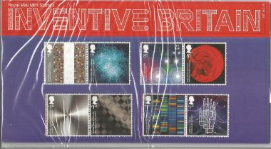 GB mint stamps Presentation Pack no 507 Inventive Britain 2015. Good condition. We combine postage