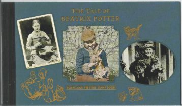 GB mint stamps Prestige Pack The Tale of Beatrix Potter, Complete. Good condition. We combine