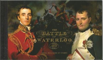 GB mint stamps Prestige Pack The Battle of Waterloo 1815, complete. Good condition. We combine