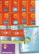 GB mint stamp Booklets approx. £20+ face value. One Book of 4 x 2nd, Six Books 10 x 2nd,One Book