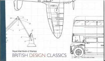 GB mint stamps Prestige Pack British design classics, complete. Good condition. We combine postage