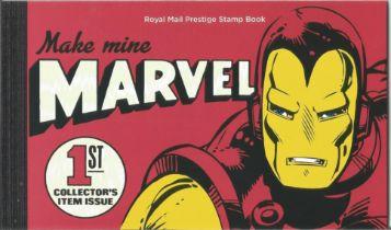 GB mint stamps Prestige Pack Make mine Marvel 1st Collector's item issue, complete. Good