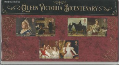 GB mint stamps Presentation Pack no 571 Queen Victoria Bicentenary 2019. Good condition. We