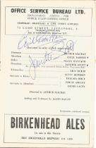 Cecil Parker & Janette Scott Signed Vintage 1953 Theatre Programme Signed Inside. Good condition.