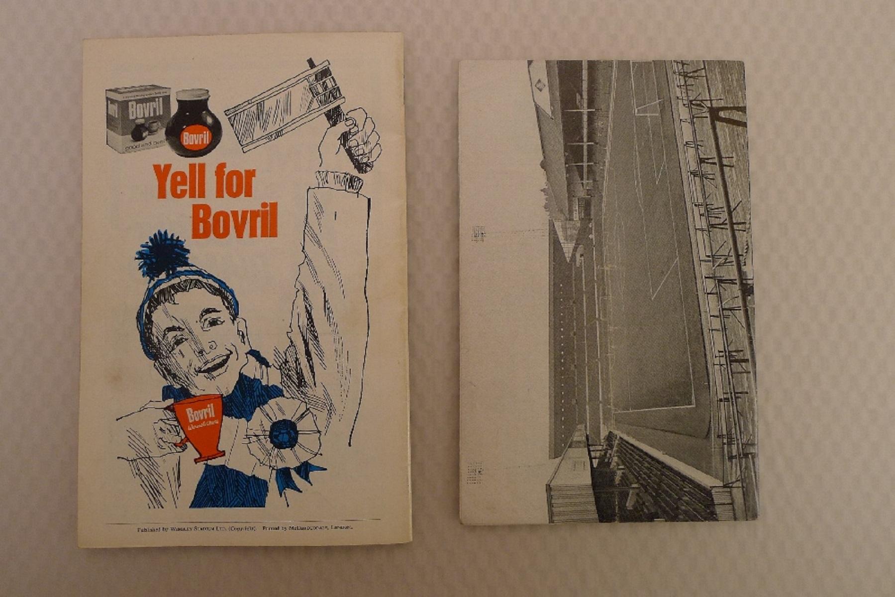 FA Cup football programmes 1967 1 x Final and 1 x Semi Final football programmes comprising Final - Image 3 of 3