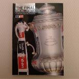FA Cup football programme FA Cup Final 2009 Chelsea v Everton May 30th, 2009, at Wembley Stadium