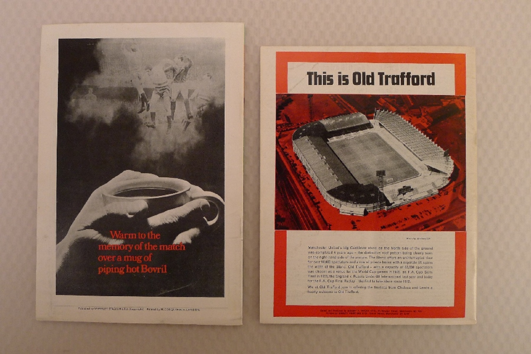 FA Cup football programmes FA Cup 1970 Both of the FA Cup Final Tie 1970 programmes between - Image 2 of 3