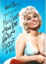 Barbara Windsor (1937 2020) Carry On Actress Signed Photo. Good condition. All autographs come