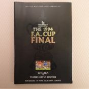 FA Cup football programme FA Cup Final 1994 Chelsea v Manchester United May 14th, 1994, at Wembley