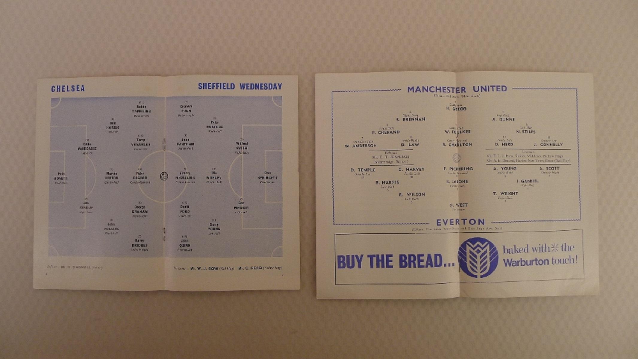 FA Cup football programmes 1966 1 x Final and 2 x Semi Final football programmes comprising Final - Image 4 of 4