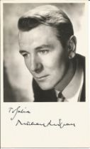 Michael Redgrave signed 6x4 black and white photo. Good condition. All autographs come with a