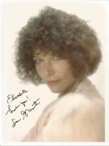 Lee Grant signed 10x8 colour photo. Dedicated. Good condition. All autographs come with a