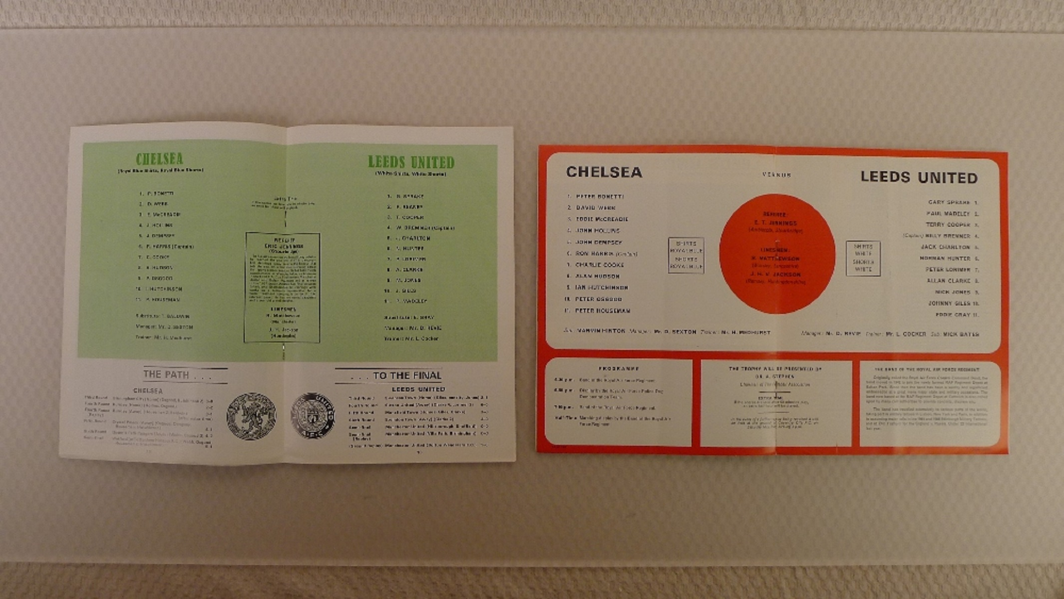 FA Cup football programmes FA Cup 1970 Both of the FA Cup Final Tie 1970 programmes between - Image 3 of 3