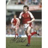 Football Autographed Wales 8 X 6 Photos Col, Depicting Former Internationals Carl Harris, Rod